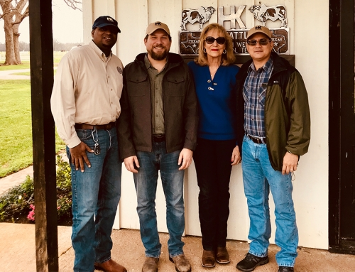 Great thanks to Sterling Smith, TDA for bringing Lic. Marco Mastellan and Ing. Luis M. Marquez from Panama to visit HK Cattle.